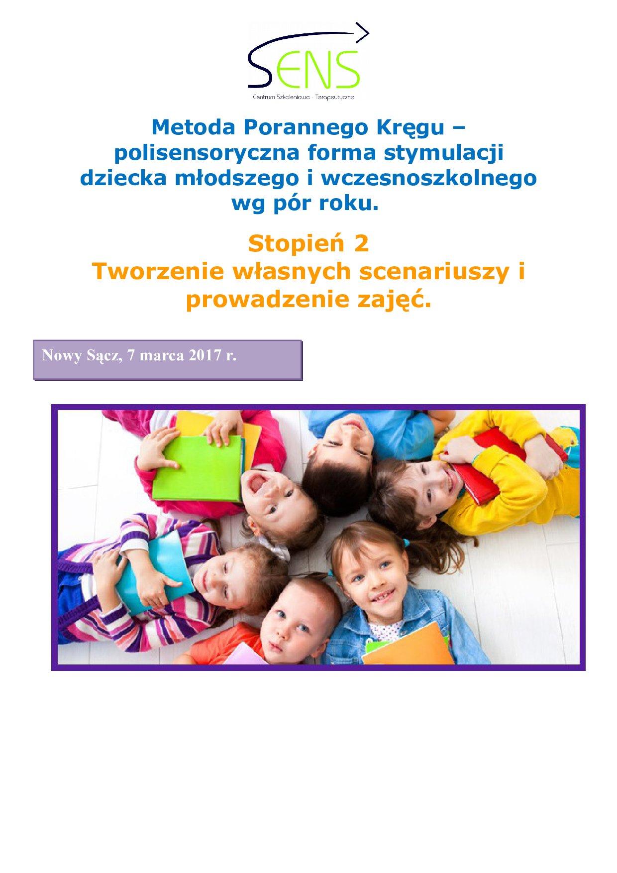 Nowy Sącz, Poranny krąg st. 2, 07.03.2017 r.