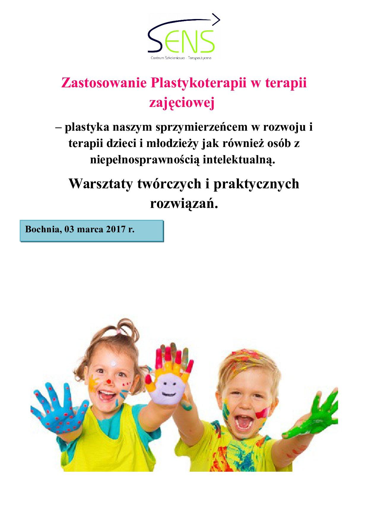 Bochnia. Plastykoterapia. 03.03.2017 r.